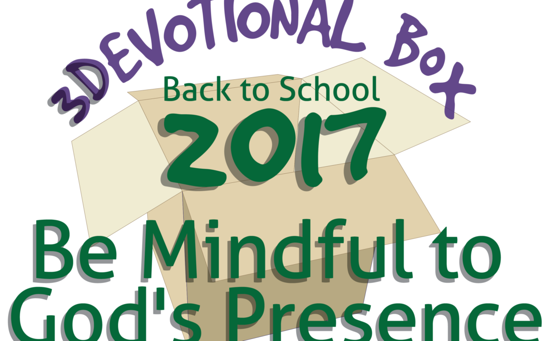 3Devotional Box — Back to School 2017