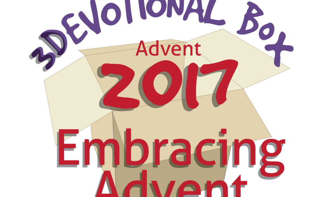 3Devotional Box — Advent 2017 Embracing God